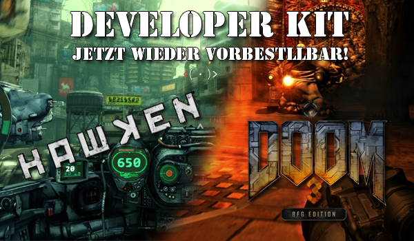 Was bisher Geschah – Doom 3 BFG, Hawken, Pre-Order now!