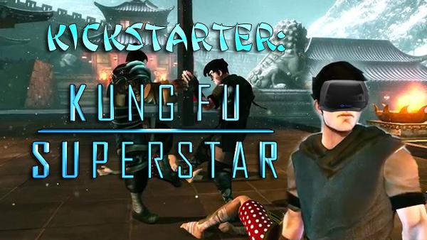 Neues Oculus Rift Spiel bei Kickstarter: Kung Fu Superstar