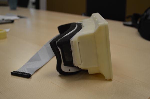 3d model eines Oculus Rift Prototyps