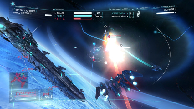 Strike Suit Zero Screenshot