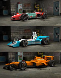 cars from the game Victory