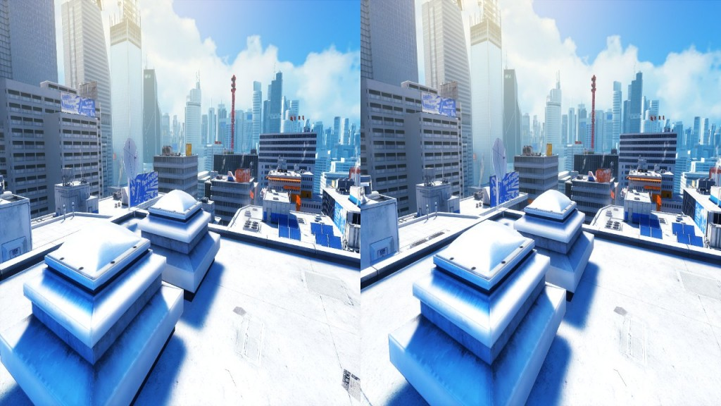 Vireio Perception Mirror's Edge Example