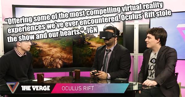Ab jetzt wieder regelmäßig! Headtracker Details und Oculus CES'13 Highlights
