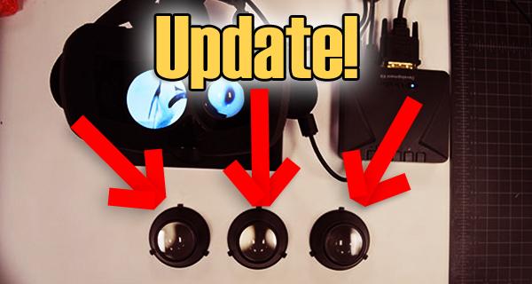 UPDATE: Wechselbare Linsen für Brillenträger!