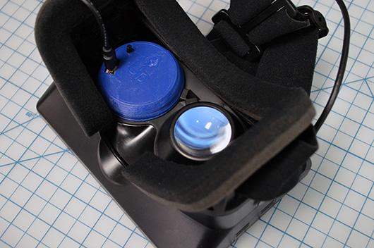 Ein Prototyp in Benutzung in einem Developer Kit.