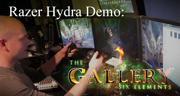 The Gallery – Hydra- Hand-Tracking Update