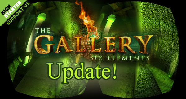 The Gallery Update, 15% to go!