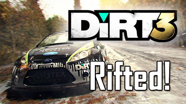 Dirt 3 – Oculus Rift mit Positional-Tracking Mod