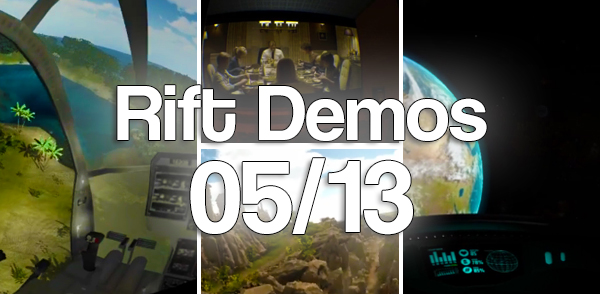 Oculus Rift Demos 05/13 !! [Update]