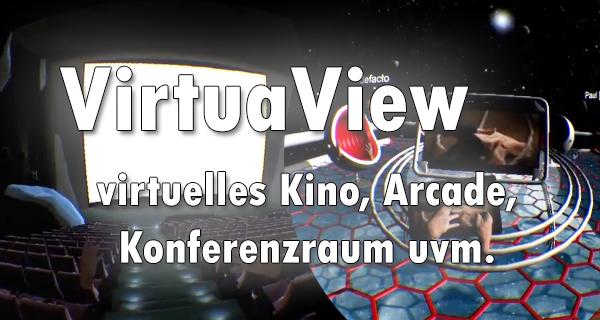 VirtuaView das original Virtual-Cinema und Konferenzraum jetzt auf Indiegogo!