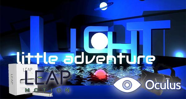 LICHT – erstes Spiel kombiniert Leap Motion und Oculus Rift