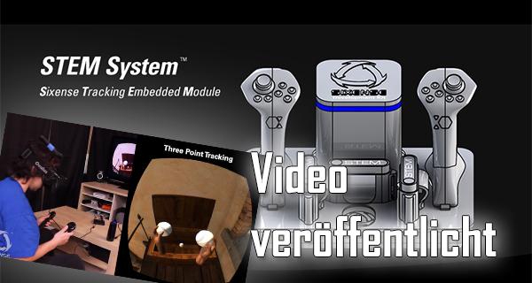 Sixense veröffentlicht Video vom Razer Hydra Nachfolger: STEM!