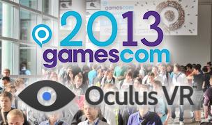 Oculus VR auf der Gamescom2013 und wir sind dabei!
