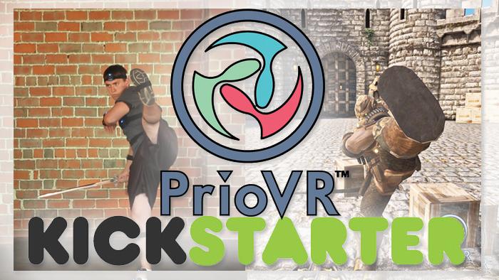 PrioVR Ganzkörper-Tracking für jedermann!