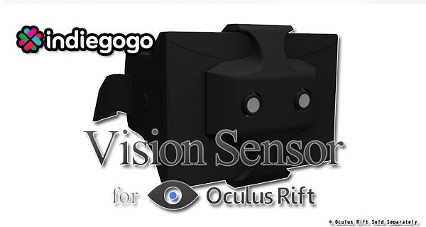 Vision Sensor: 3D Augmented Reality für Oculus Rift