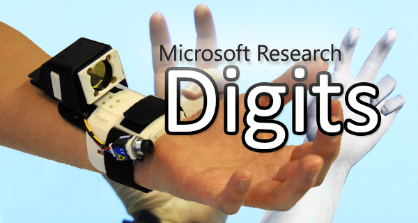 "Microsofts ""Digits"" – Finger Tracking ohne Data Gloves"