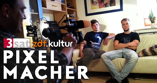 Virtual Reality bei den Pixelmachern (3Sat, ZDF Kultur) | Update: Jetzt auch in der Mediathek!