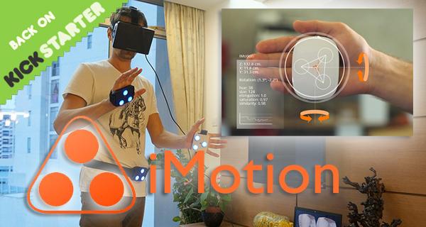iMotion – Haptic Feedback Virtual Reality Motion Control