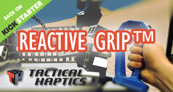 Reactive Grip – Haptisches Feedback in Videospielen