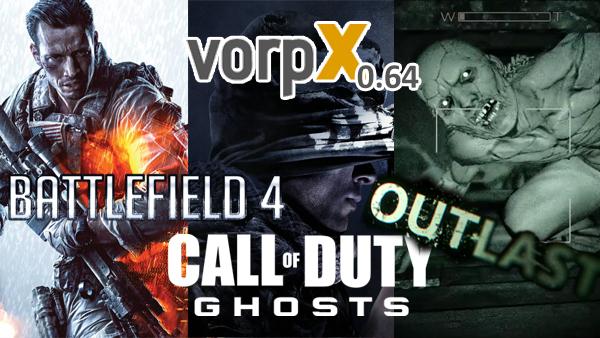 vorpX 0.64 Released – Battlefield 4 und Call of Duty: Ghosts Unterstützung!
