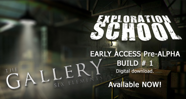 The Galllery – Exploration School veröffentlicht!