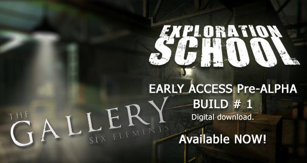 The Galllery – Exploration School veröffentlicht!