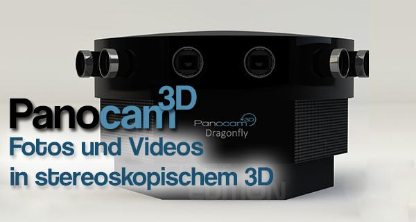 Panocam3D – Aufnahmesystem bietet stereoskopische Rundumaufnahmen