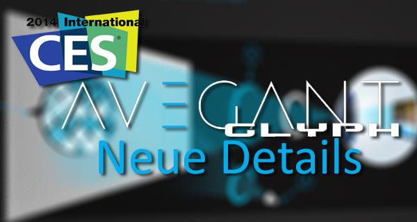 CES 2014: Neue Grafiken zur Media-Brille Avegant Glyph