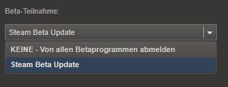 Schritt1: Öffnet zunächst die Steam Account Einstellungen: Steam -> Einstellungen -> Account