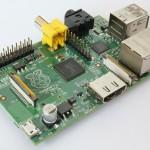 Der Rasperry Pi, ein Minicomputer in EC-Karten-Größe.