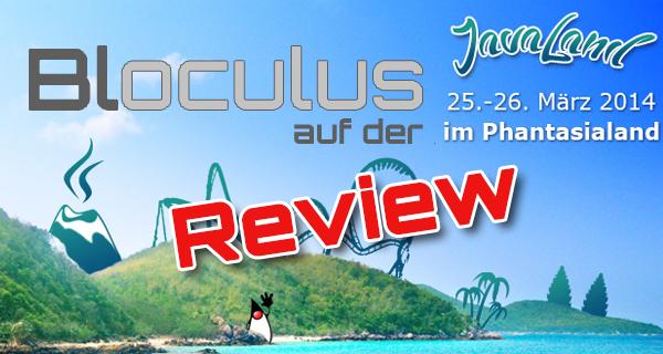 Bloculus auf der Javaland – Impressionen