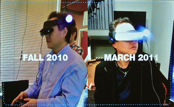 Sony testet HMZ mit Move. (Quelle: Sony, Heise)