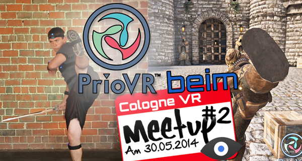 PrioVR beim Cologne VR Meetup antestbar!