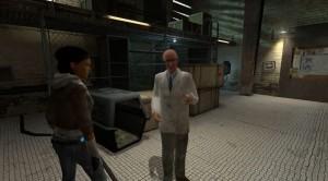 In den Half-Life 2 Cutscenes kann sich der Spieler frei Umsehen, trotzdem können fast alle der Handlung folgen.