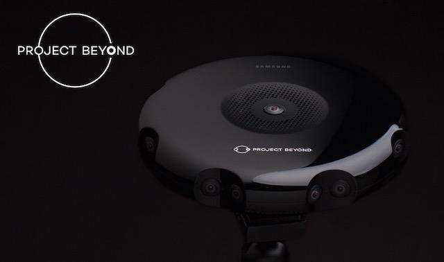 Samsungs Project Byond, ist eine stereoskopische 360° Software.
