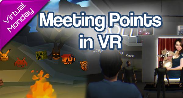 Die Anfänge vom Metaverse, wo trifft man sich aktuell in VR?