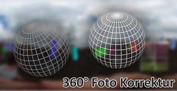 360° Foto-Korrektur mit Hugin (Freeware)