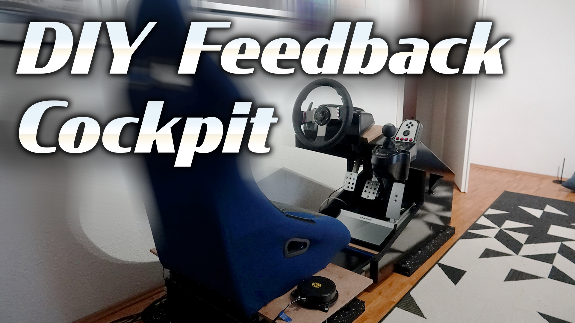 DIY VR-Racing Cockpit mit haptischem Feedback