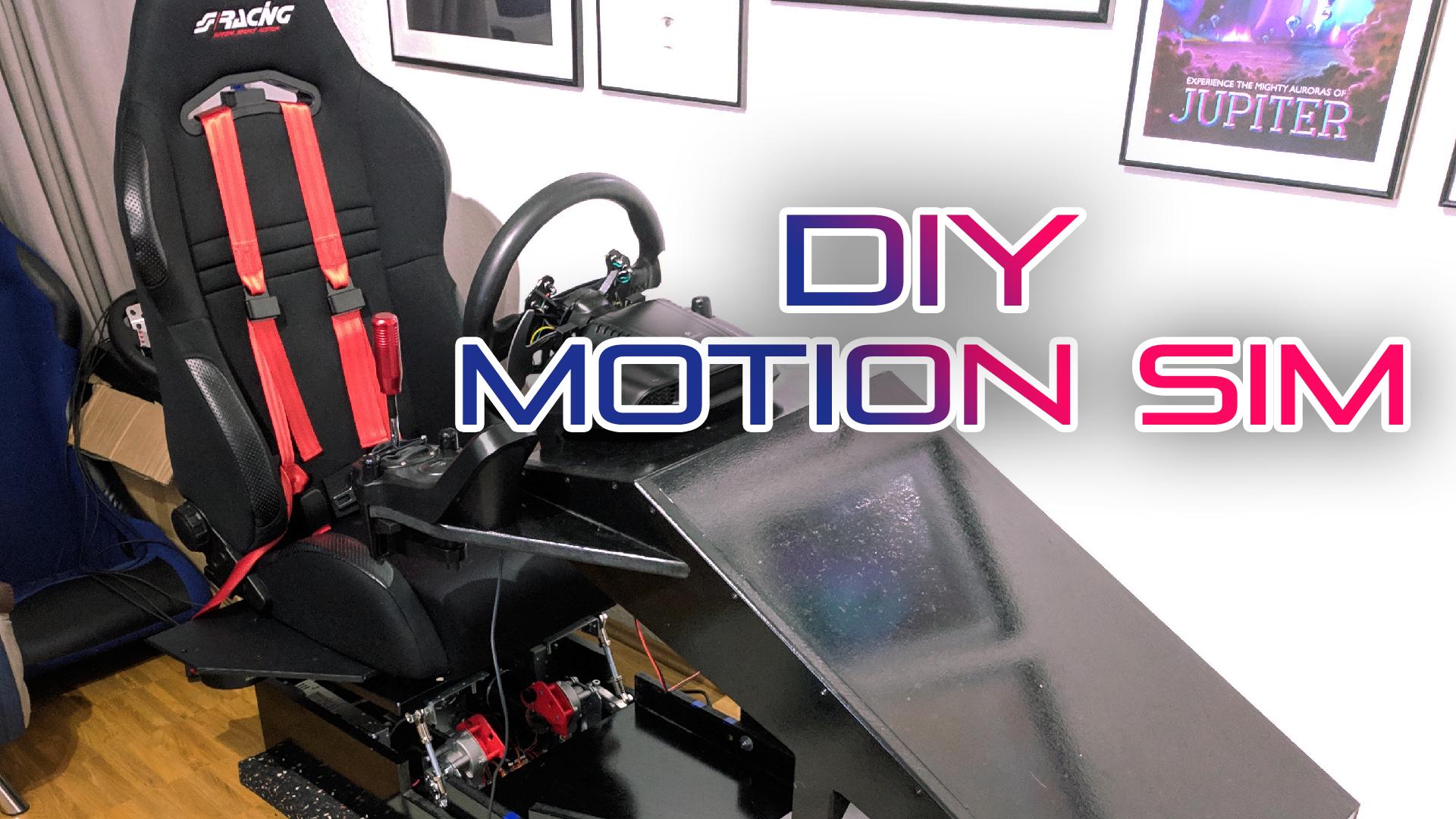 DIY Motion Simulator für Rennspiele – Baudoku